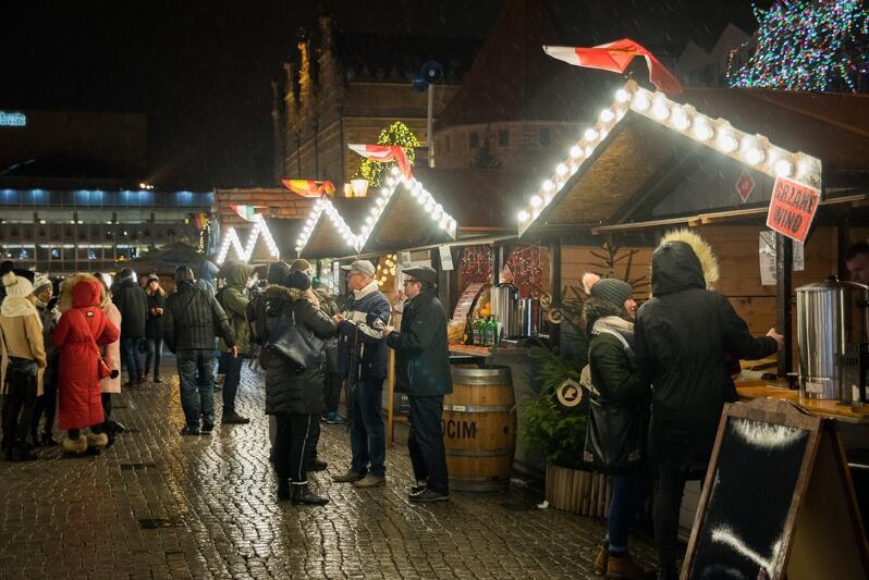 Do 13 stycznia działa strefa gastronomiczna na Targu Węglowym