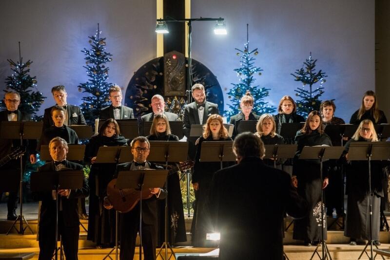 Charytatywny Koncert Bożonarodzeniowy Polskiego Chóru Kameralnego na rzecz ratowania Bazyliki św. Mikołaja w Gdańsku