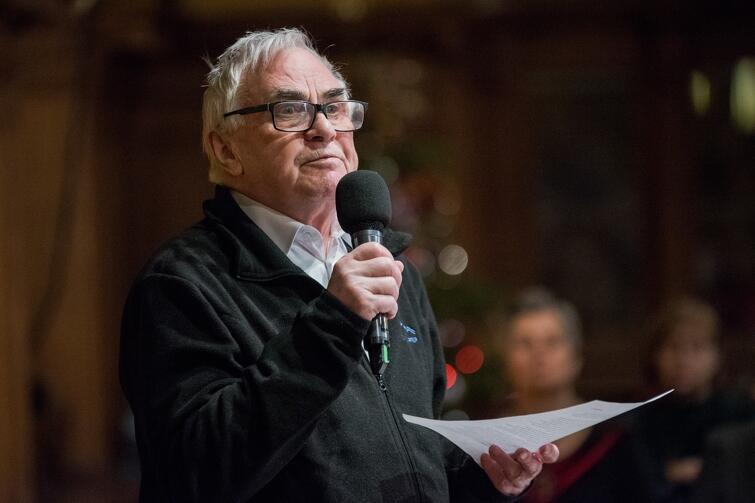Ojciec Ludwik Wiśniewski. Wykład w Ratuszu Staromiejskim w Gdańsku