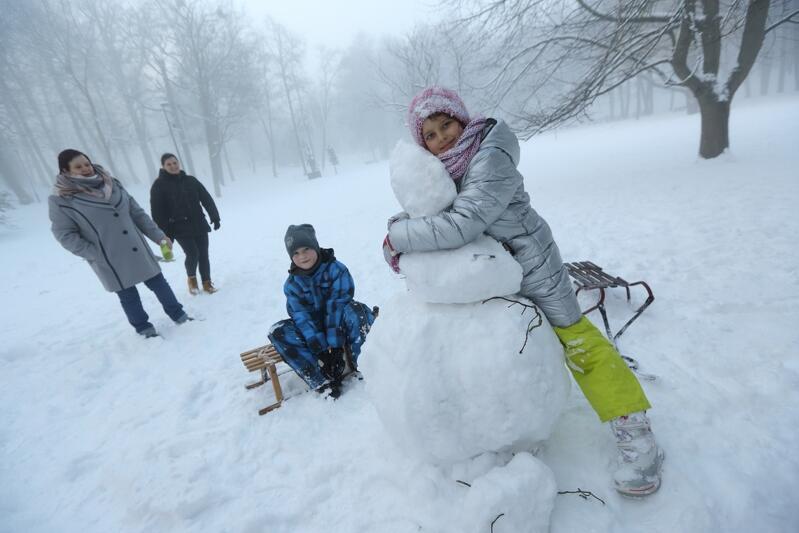 Ferie 2017 w Parku Oruńskim. Trzymamy kciuki za śnieg w tym roku!