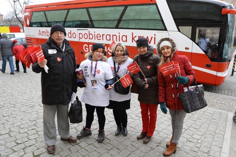 Na Targu Węglowym w czasie 27. Finału WOŚP w Gdańsku na krwiodawców czekać będzie specjalny ambulans