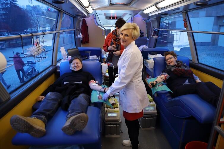 Organizatorem akcji jest Regionalne Centrum Krwiodawstwa i Krwiolecznictwa z Gdańska oraz wolontariusze Europejskiej Fundacji KrewAktywni