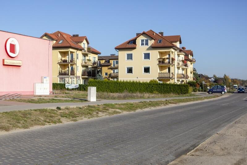 Ul. Nowa Koziorożca powstać ma na rezerwie terenowej zabezpieczonej właśnie na jej budowę