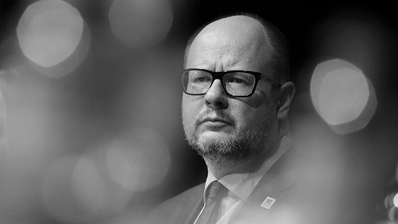 Sylwetka Pawła Adamowicza prezydenta Miasta Gdańska (1965 - 2019)