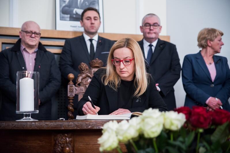 Nz. Agnieszka Owczarczak - Przewodnicząca Rady Miasta Gdańska