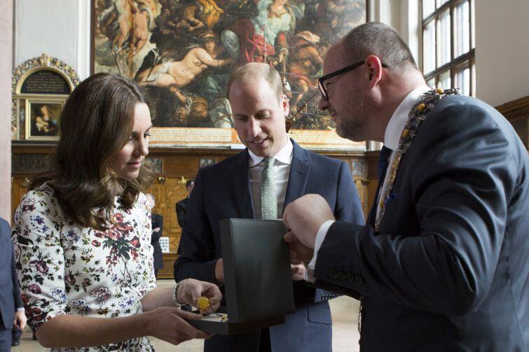Lipiec 2017. Wizyta brytyjskiej pary książęcej Cambridge Williama i Kate w Gdańsku