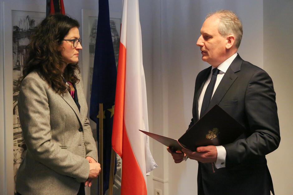 Aleksandra Dulkiewicz otrzymała w czwartek pełnomocnictwo do pełnienia funkcji prezydenta Gdańska