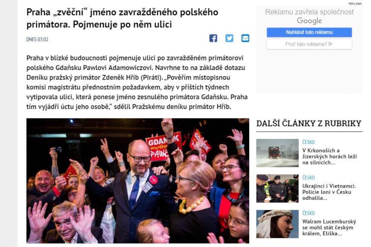 dziennik czeski