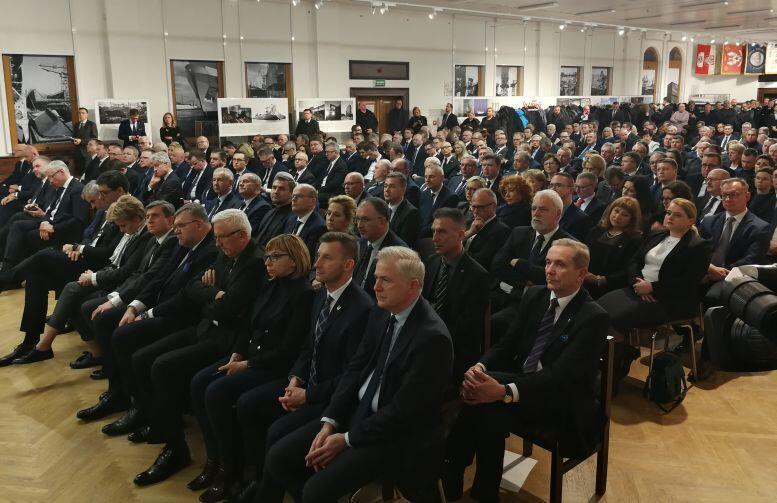 Sala BHP. Nadzwyczajne Zgromadzenie Ogólne Związku Miast Polskich