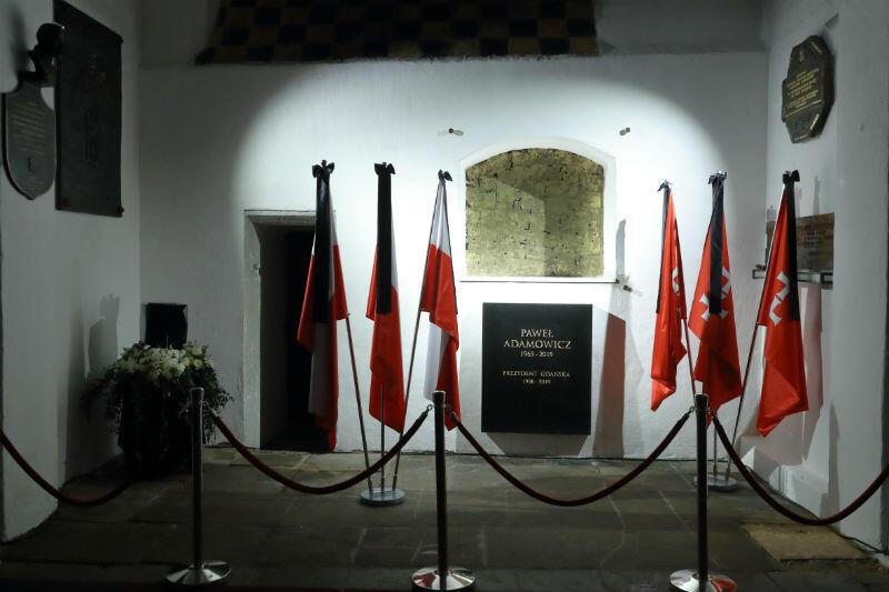 W tym miejscu zostaną złożone prochy prezydenta Adamowicza