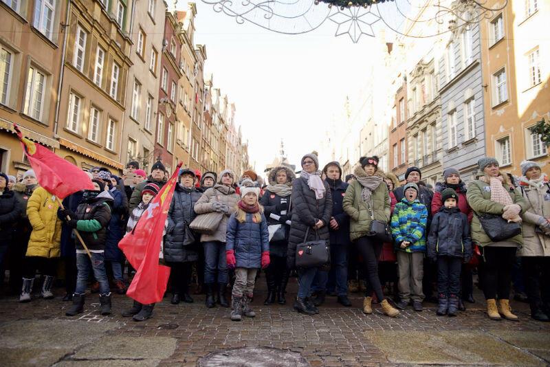 Najwięcej osób stoi na ul. Piwnej