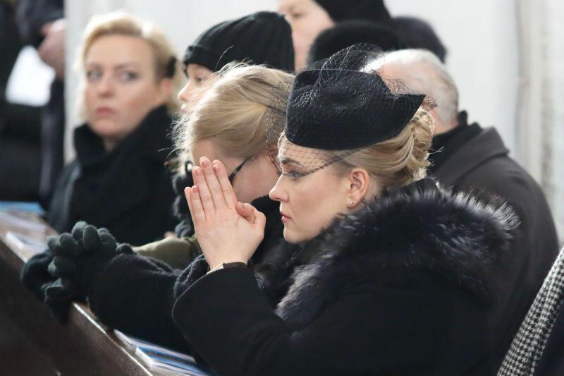 Rodzina zmarłego prezydenta Pawła Adamowicza