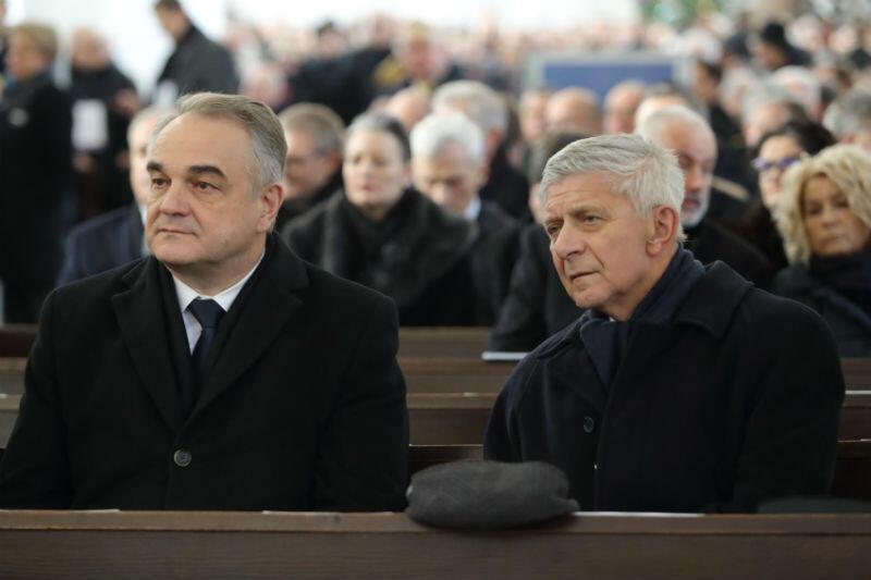 Byli premierzy Waldemar Pawlak i Marek Belka