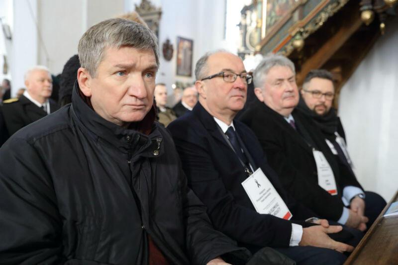 Jerzy Wenderlich - wiceprzewodniczący SLD i Włodzimierz Czarzasty - przewodniczący SLD