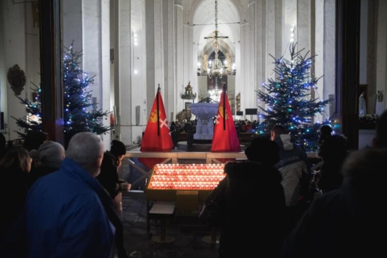 Msza wieczorna w Bazylice Mariackiej w intencji śp. Pawła Adamowicza