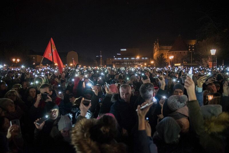 Światełko do nieba, Gdańsk, 20 stycznia 2019 r.