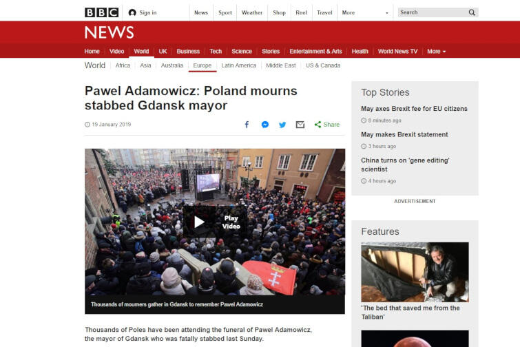 bbc Adamowicz