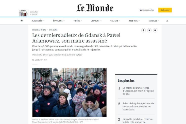 Le monde_Adamowicz
