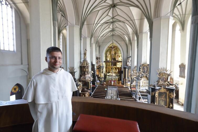 Ojciec Michał Osek nowym przeorem gdańskiego klasztoru dominikanów