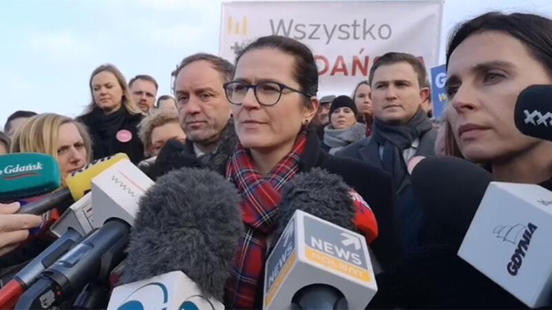 Aleksandra Dulkiewicz ogłasza, że będzie kandydować na prezydenta Gdańska w przedterminowych wyborach 3 marca