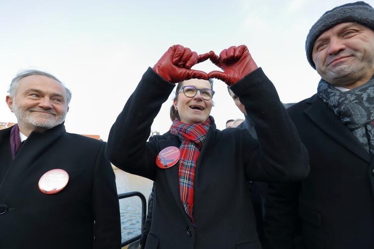 Aleksandra Dulkiewicz, kandydatka na urząd prezydenta Gdańska, może liczyć na wsparcie trójmiejskich i pomorskich samorządowców