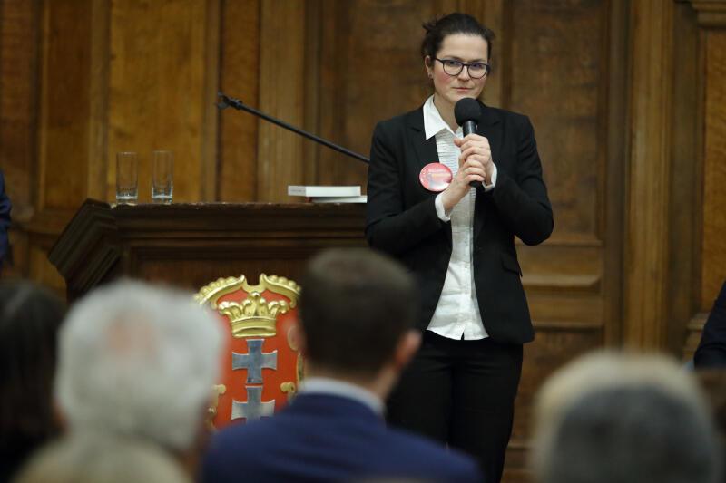 Aleksandra Dulkiewicz, pełniąca obowiązki prezydenta Gdańska zapowiada kontynuację cyklu debat