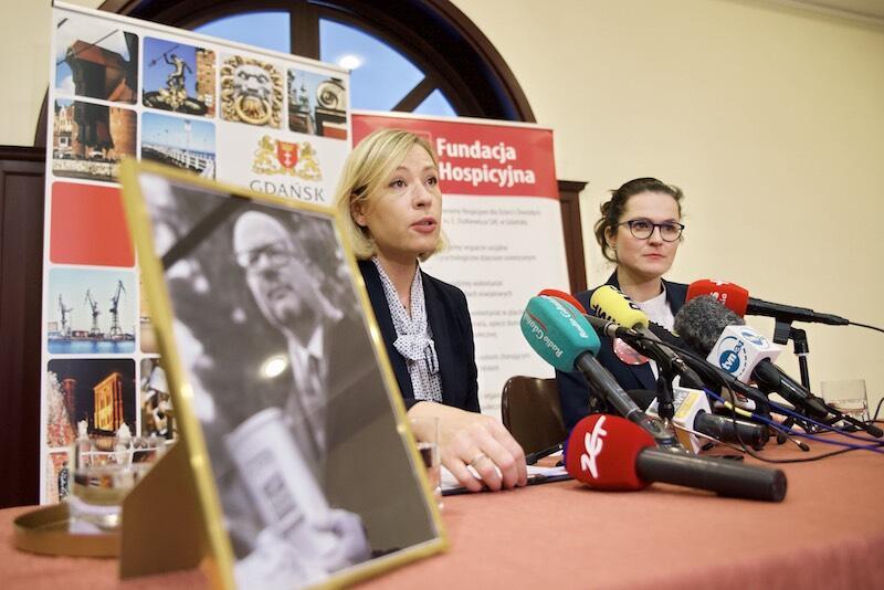 – Hospicjum to jest miejsce szczególne, które prezydent darzył troską i myślał jego rozwoju – mówiła pełniąca obowiązki prezydenta Gdańska Aleksandra Dulkiewicz