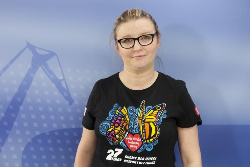 Nz. Patrycja Krzymińska pomysłodawczyni zbiórki pieniędzy na FB do wirtualnej puszki Pawła Adamowicza