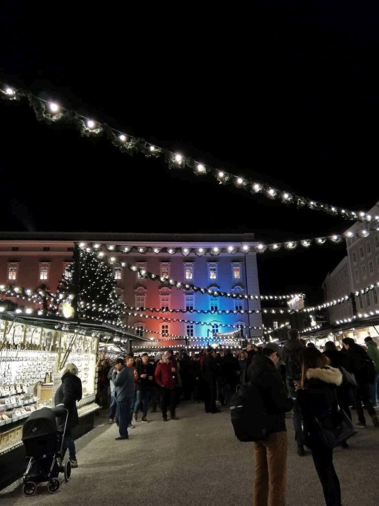 Jarmark Bożonarodzeniowy w Salzburgu, w Austrii