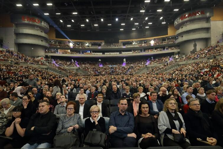Ergo Arena była wypełniona publicznością po brzegi