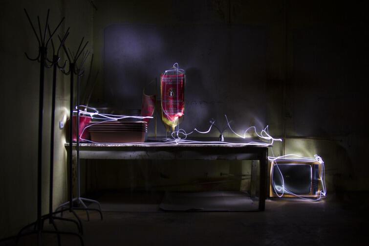 Malowanie światłem pozwala tworzyć fotografie z niepowtarzalnym wzorem