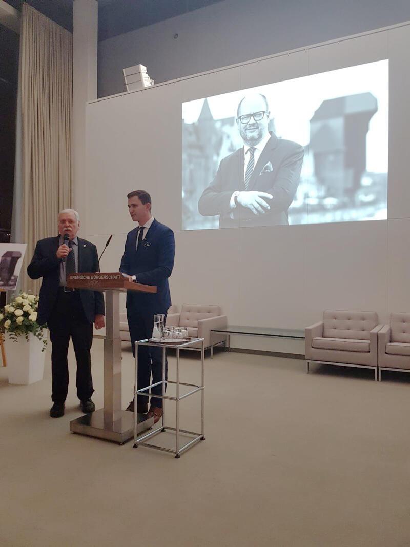 Nasze miasto reprezentował m.in. Piotr Grzelak, pierwszy zastępca prezydenta Gdańska