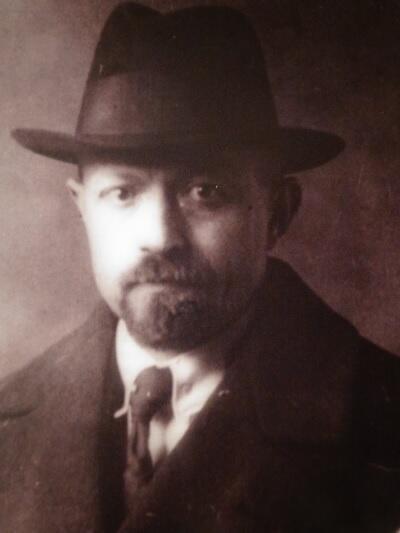 Max Baumann, zdjęcie z początku XX wieku