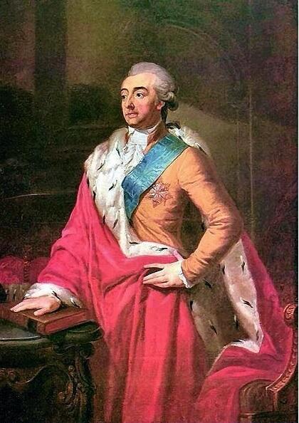 Adam K. Czartoryski, portret Józefa Peszki