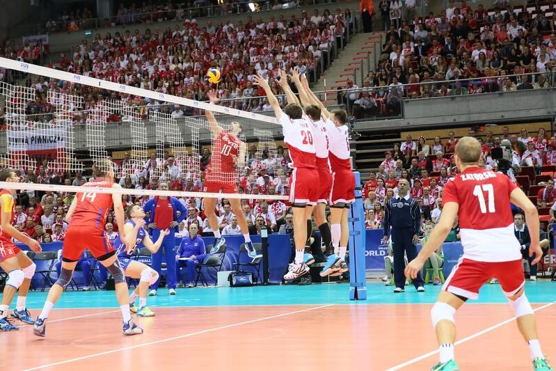 Maj 2015, hala Ergo Arena. Polska w meczu Ligi Światowej pokonała Rosję 3:0