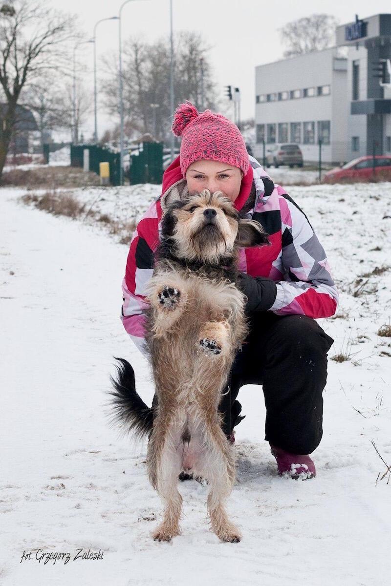 - Okres jesienno - zimowy mocno weryfikuje zaangażowanie wolontariuszy, a psiaki potrzebują naszej pomocy cały rok - mówi Ola Burlińska