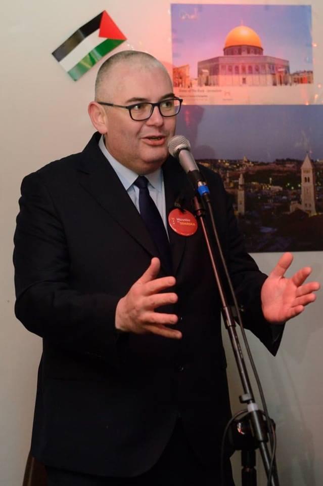 Gości przywitał wiceprezydent Gdańska, Piotr Kowalczuk.