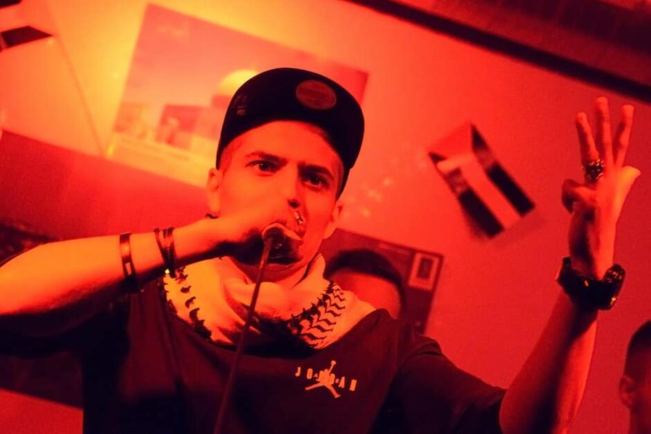 Polsko - arabski rap w klubie Ziemia w Gdańsku