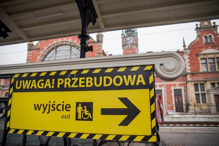 4 lutego, na kilka miesięcy, zamknięte zostanie przejście podziemne pomiędzy dworcem kolejowym i autobusowym