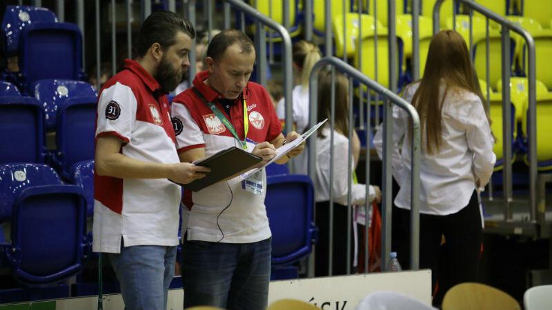 Trenerzy reprezentacji Polski: Szwed Christer Bertilsson (z lewej) i Paweł Ludwichowski