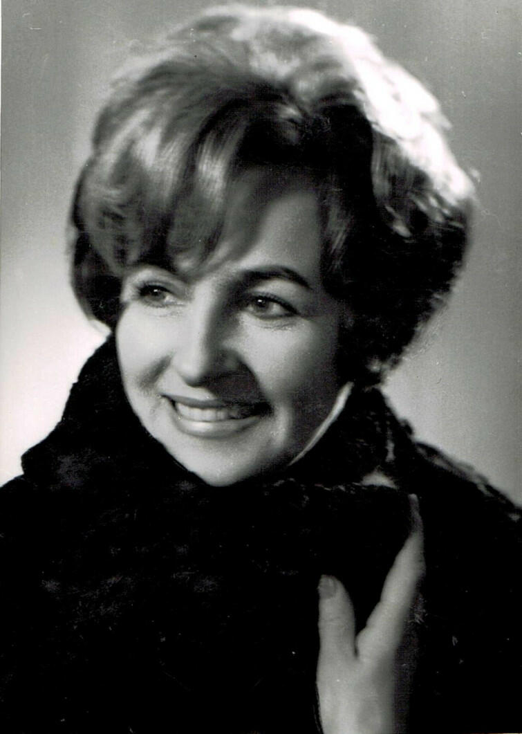 Zofia Janukowicz, ok. 1970 rok