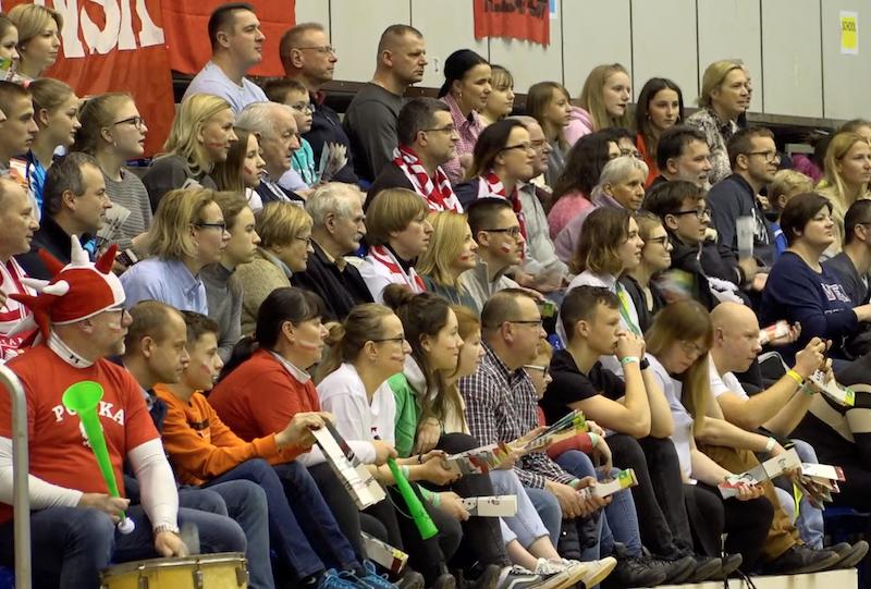 Po pełnych trybunach widać było, że fanów unihokeja w Gdańsku nie brakuje