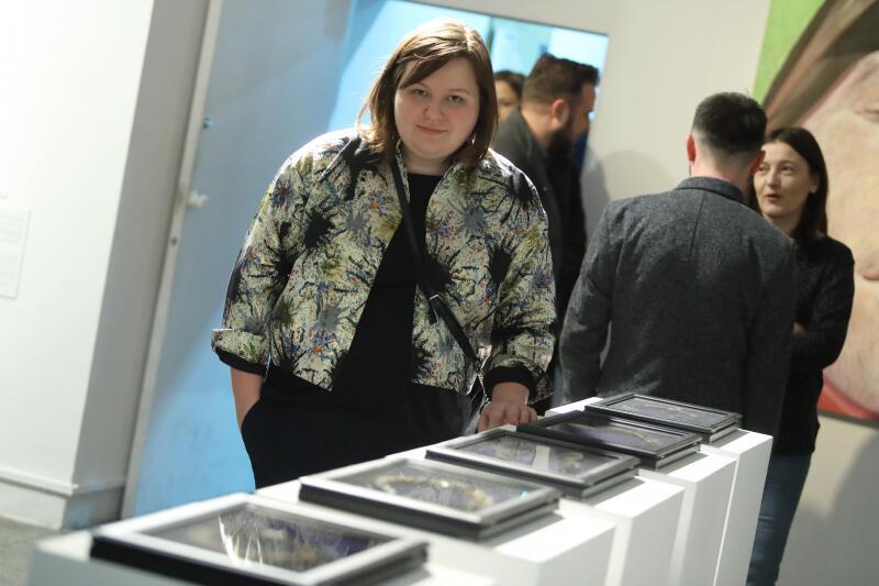 Zwyciężczyni Gdańskiego Biennale Sztuki 2018 - Agnieszka Piasecka