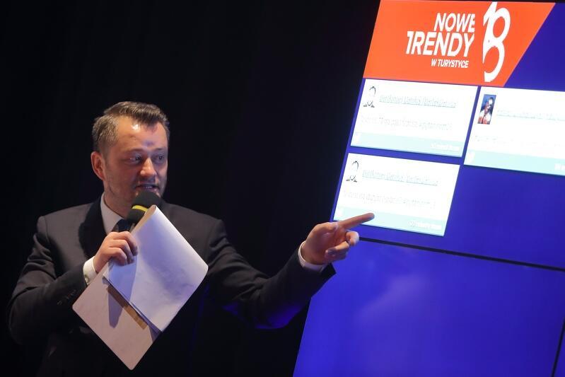 W edycji 2018 gospodarzem konferencji był znany dziennikarz Jarosław Kuźniar
