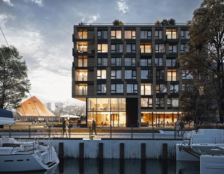 Apartamentowiec Chlebova powstaje w miejscu gdańskiej piekarni, stąd jego nazwa