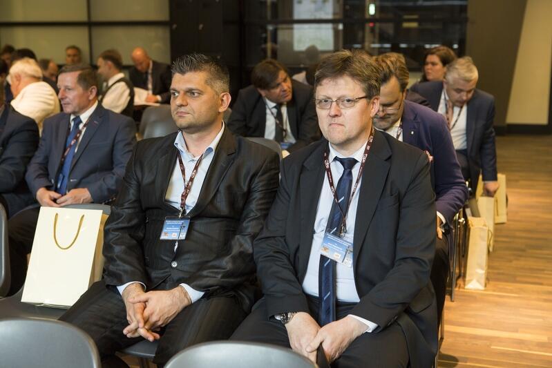 Na zdjęciu: Jerzy Dobaczewski (z prawej) i Sebastian Zomkowski