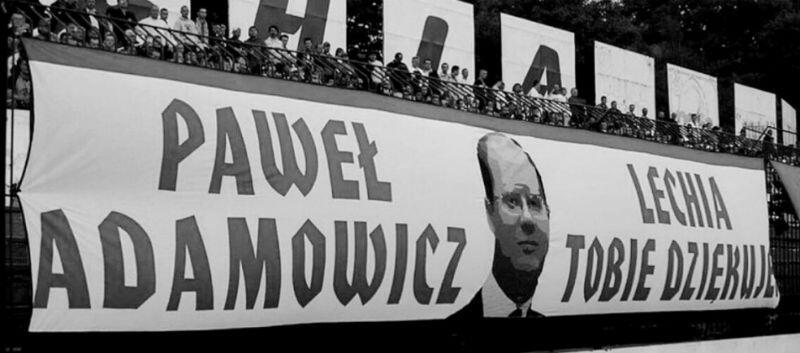 W sobotę, 9 lutego, Lechia i kibice biało-zielonych pożegnają śp. Prezydenta Gdańska Pawła Adamoiwcza