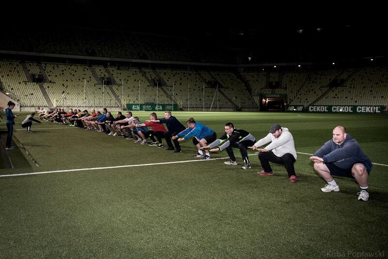 Na przykład na Stadionie Energa Gdańsk