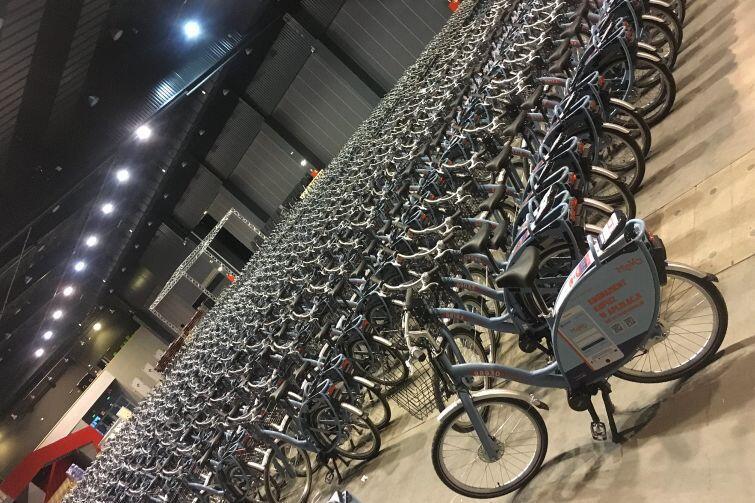 Ponad 1200 elektrycznych rowerów MEVO dotarło już do Gdańska