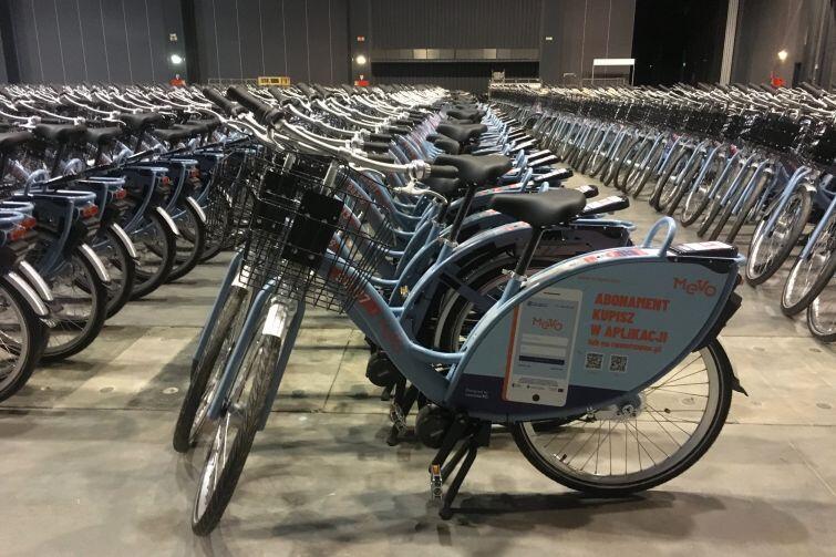 , 1200 rowerów MEVO jest już w Gdańsku. System zgłoszony do odbioru